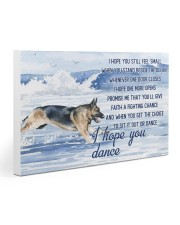 German Shepherd - I Hope You Dance 30x20 Gallery Wrapped Canvas Prints thumbnail