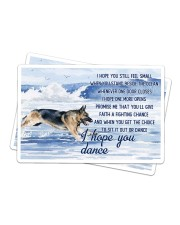 German Shepherd - I Hope You Dance Sticker - 2 pack (Horizontal) thumbnail