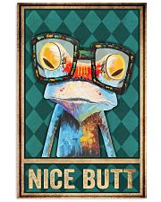 Frog Nice Butt 11x17 Poster front