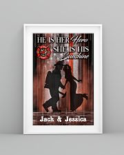 Firefighter Hero And Sunshine Customized  11x17 Poster lifestyle-poster-5