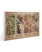 Giraffe Be Strong Gallery Wrapped Canvas Prints tile