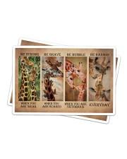 Giraffe Be Strong Sticker - 2 pack (Horizontal) thumbnail