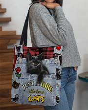Just A Girl Who Loves Cats All-over Tote aos-all-over-tote-lifestyle-front-09