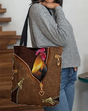 Chicken  All-over Tote aos-all-over-tote-lifestyle-front-09