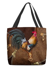 Rooster  All-over Tote back