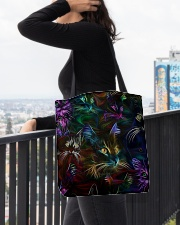 Cat Neon All-over Tote aos-all-over-tote-lifestyle-front-05