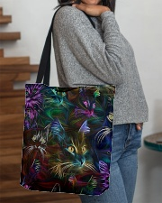 Cat Neon All-over Tote aos-all-over-tote-lifestyle-front-09