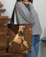Airedale Terrier  All-over Tote aos-all-over-tote-lifestyle-front-09