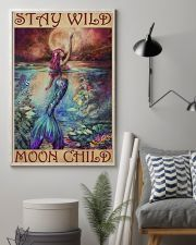 Mermaid - Stay Wild Moon Child 11x17 Poster lifestyle-poster-1