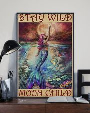 Mermaid - Stay Wild Moon Child 11x17 Poster lifestyle-poster-2
