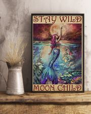 Mermaid - Stay Wild Moon Child 11x17 Poster lifestyle-poster-3