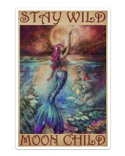 Mermaid - Stay Wild Moon Child Sticker - Single (Vertical) thumbnail