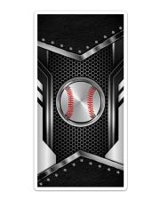 Baseball Metal Leather Like Case Sticker - Single (Vertical) thumbnail