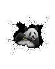 Panda Crack Sticker - Single (Vertical) front
