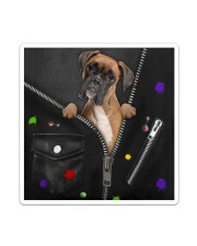 Boxer - Zip - All - Tote Sticker - Single (Vertical) thumbnail