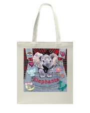 Elephant Lover Tote Bag thumbnail