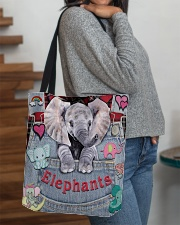 Elephant Lover All-over Tote aos-all-over-tote-lifestyle-front-09