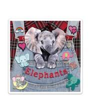 Elephant Lover Sticker - Single (Vertical) thumbnail
