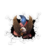 Eagle Crack Sticker - Single (Vertical) front
