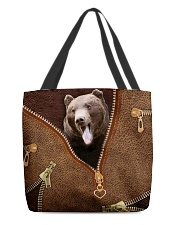 Bear All-over Tote back