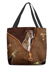 Greyhound  All-over Tote front