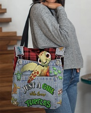 Just A Girl Who Loves Turtles All-over Tote aos-all-over-tote-lifestyle-front-09