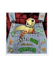 Just A Girl Who Loves Turtles Sticker - Single (Vertical) thumbnail