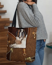 St Bernard  All-over Tote aos-all-over-tote-lifestyle-front-09