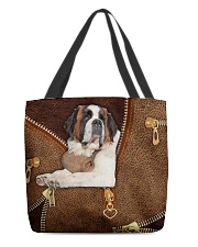St Bernard  All-over Tote front