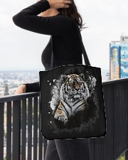 Tiger Animal Lovers All-over Tote aos-all-over-tote-lifestyle-front-05