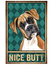 Boxer Dog Nice Butt 11x17 Poster front