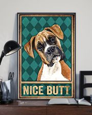 Boxer Dog Nice Butt 11x17 Poster lifestyle-poster-2