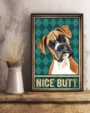Boxer Dog Nice Butt 11x17 Poster lifestyle-poster-3