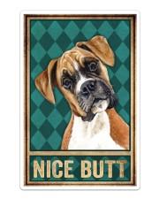 Boxer Dog Nice Butt Sticker - Single (Vertical) thumbnail