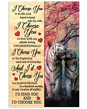 Tiger - I Choose You Poster 11x17 Poster front