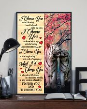 Tiger - I Choose You Poster 11x17 Poster lifestyle-poster-2