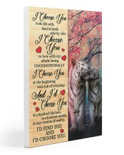 Tiger - I Choose You Poster Gallery Wrapped Canvas Prints tile