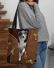 Australian Shepherd  All-over Tote aos-all-over-tote-lifestyle-front-09