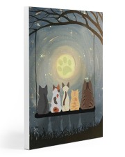 Moonlight Cat 20x30 Gallery Wrapped Canvas Prints thumbnail