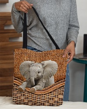 Elephant Funny All - Over Tote All-over Tote aos-all-over-tote-lifestyle-front-10