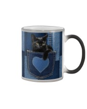 Black Cat Jean Pocket Color Changing Mug thumbnail
