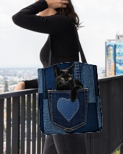 Black Cat Jean Pocket All-over Tote aos-all-over-tote-lifestyle-front-05