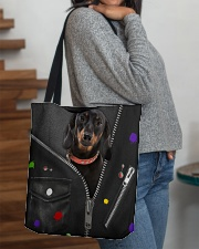 Dachshund - Zip - All Tote All-over Tote aos-all-over-tote-lifestyle-front-09