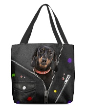 Dachshund - Zip - All Tote All-over Tote back