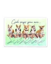 Corgi God Says You Are Sticker - Single (Horizontal) thumbnail