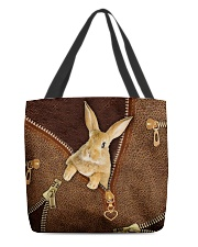 Rabbit  All-over Tote back