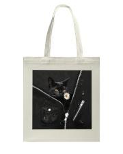 Black Cat Black  Tote Bag thumbnail