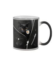 Black Cat Black  Color Changing Mug thumbnail