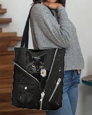 Black Cat Black  All-over Tote aos-all-over-tote-lifestyle-front-09
