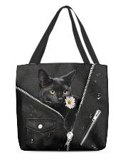 Black Cat Black  All-over Tote back